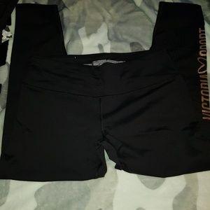 Victoria secret bling sports leggings.